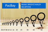 PacBay   MODEL TV - CERAMIC RINGS ONE PIECE STAMPED FRAME GUIDE