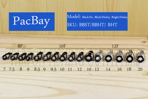 PacBay   MODEL BT----- BOAT ROD TOPS