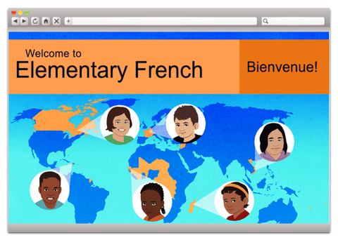 Elementary French 1 (Grades 3-5)