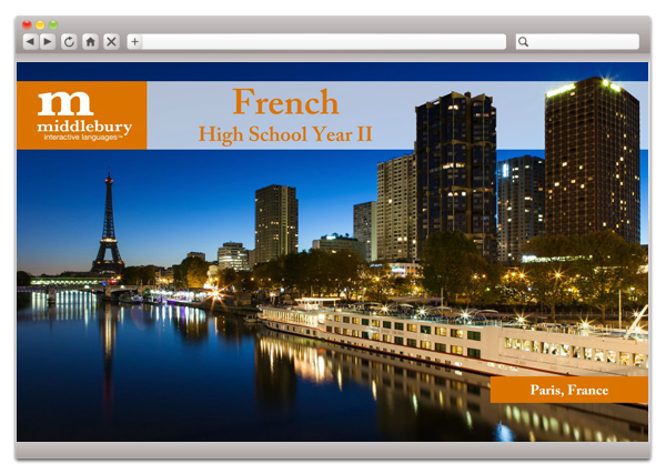 High School French II Fluency (Grades 9-12)