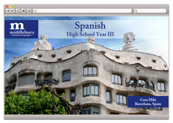 High School Spanish III (Grades 9-12)
