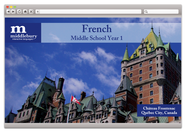 Middle School French 1 (Grades 6-8)