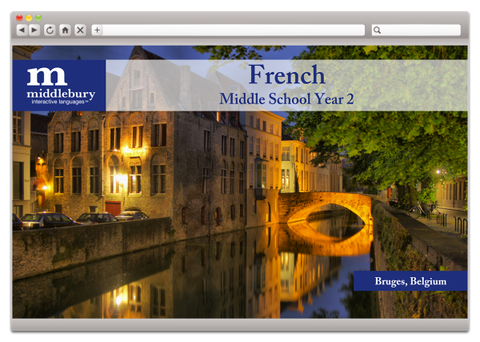 Middle School French 2 (Grades 6-8)