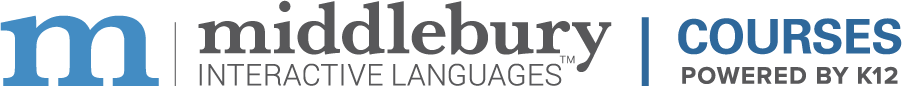Middlebury Interactive Language Courses Powered by K12