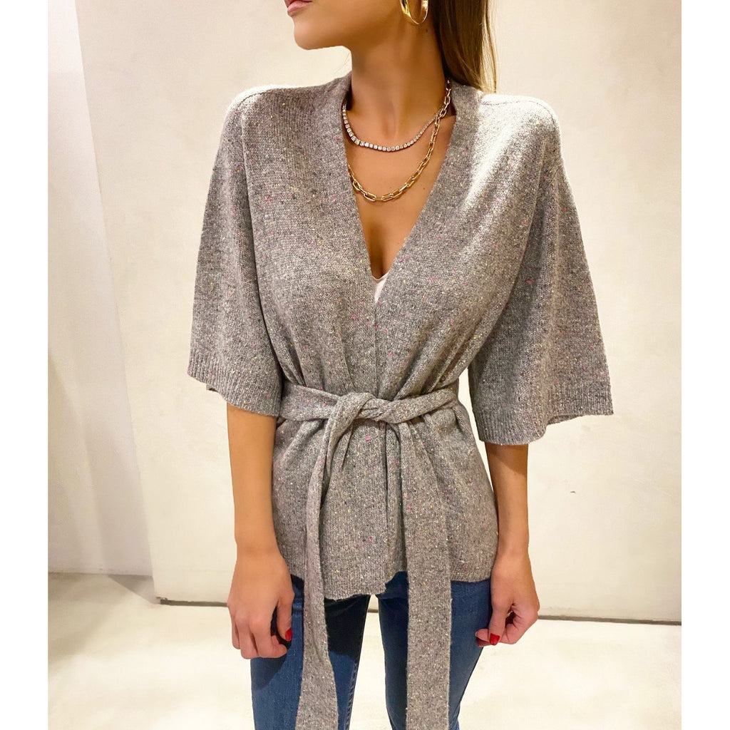 SOYER CASHMERE WRAP CARDIGAN IN FESTIVAL - SWITCH BOUTIQUE