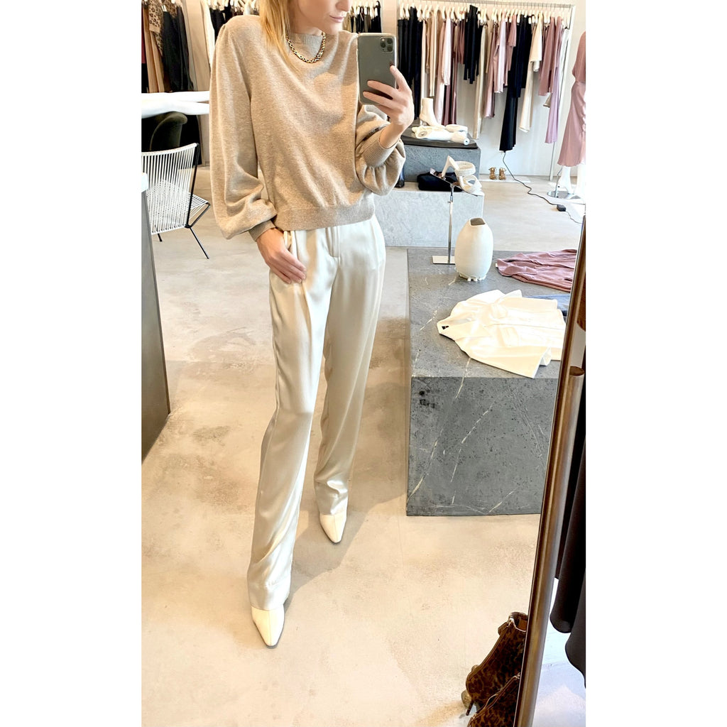 SABLYN JASPER SILK PANT IN CREAM
