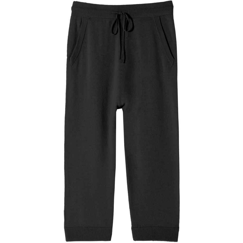 NILI LOTAN PARIS CASHMERE SWEATPANT IN BLACK