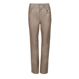 NANUSHKA VINNI VEGAN LEATHER PANTS IN CLAY - SWITCH BOUTIQUE