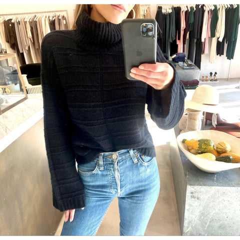 SABLYN AYDEN SWEATER IN BLACK - SWITCH BOUTIQUE