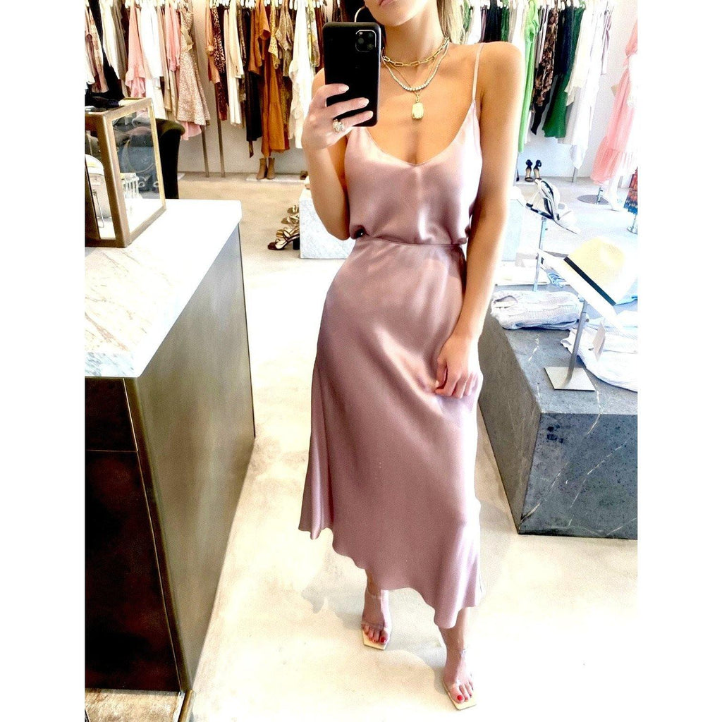 SABLYN MIRANDA SILK SKIRT IN LILAC - SWITCH BOUTIQUE