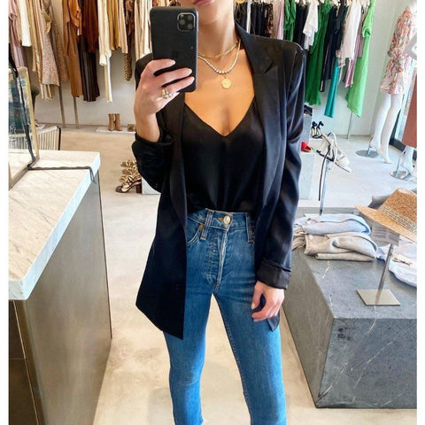 SABLYN JAMES BLAZER IN BLACK - SWITCH BOUTIQUE