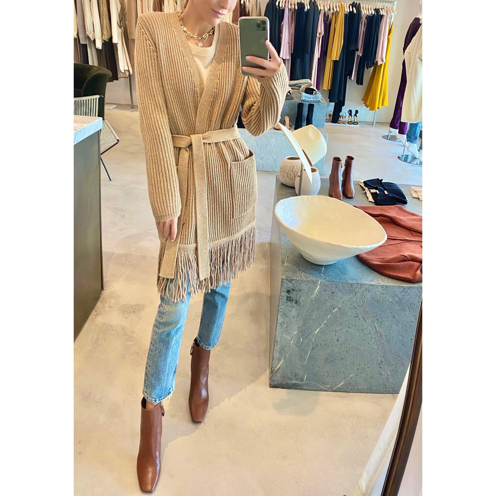 MAX MARA GOLD CARDIGAN - SWITCH BOUTIQUE