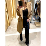 MAX MARA PATRIK COAT IN CAMEL - SWITCH BOUTIQUE