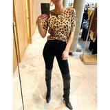 KHAITE DIANNA SWEATER IN CHEETAH - SWITCH BOUTIQUE