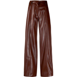NANUSHKA CLEO VEGAN LEATHER PANTS IN PLUM - SWITCH BOUTIQUE