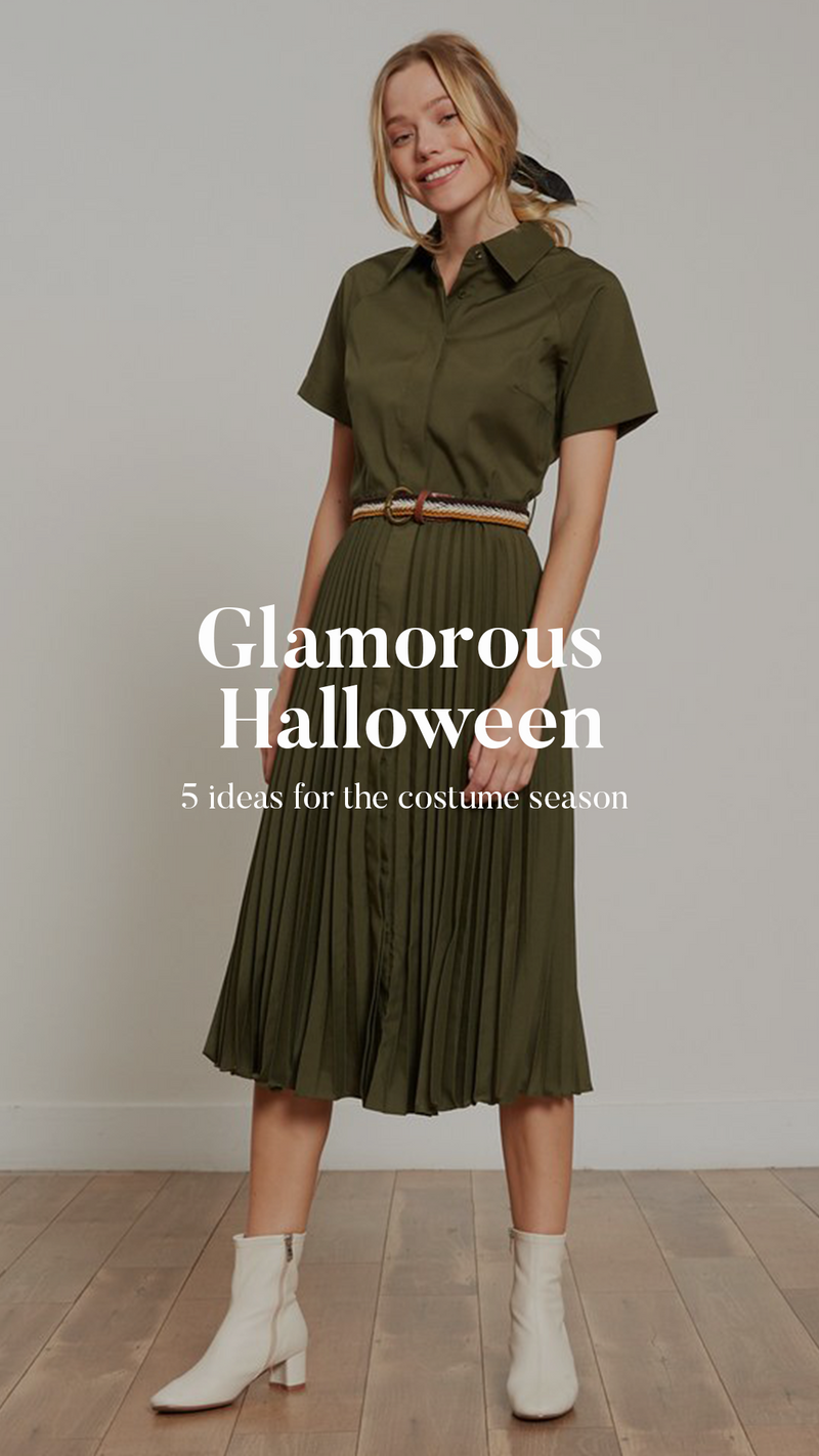 Glamorous Halloween: 5 ideas for the costume season