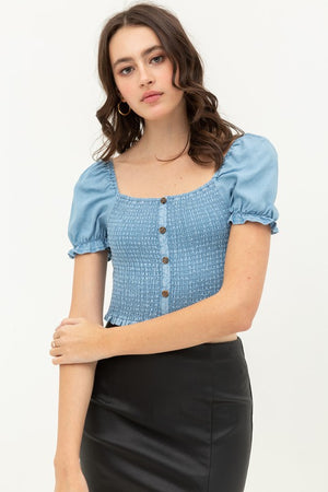 Laurie Blue Top
