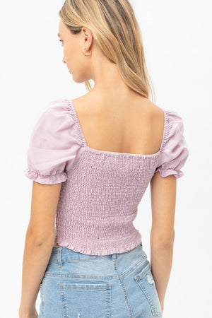 Laurie Lilac Top