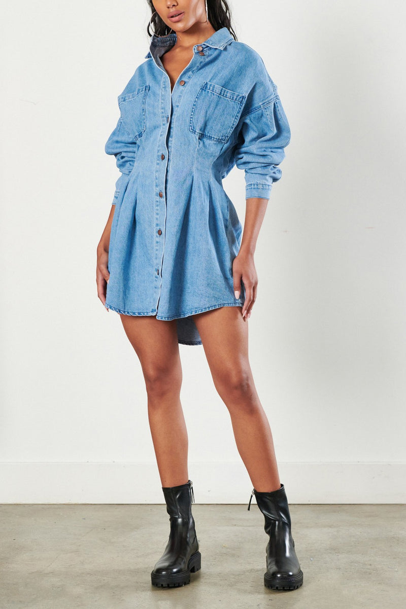 Vittoria Denim Dress