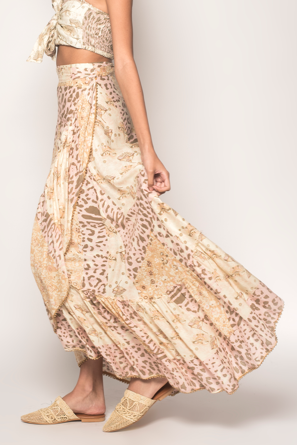 Into the Mystic Wrap Skirt