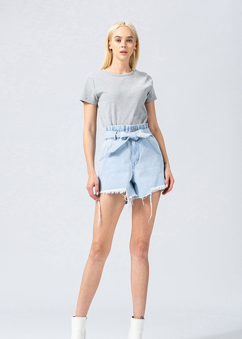 Paperbag Mom Shorts