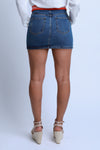 Denim Waistband Skirt