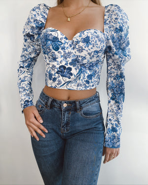Anastasia Crop Top