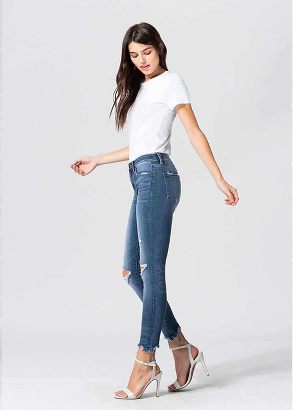 Chantal Mid Rise Jean