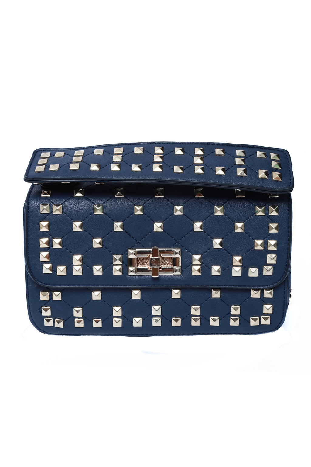 The Rockstud Cross Body Bag Navy