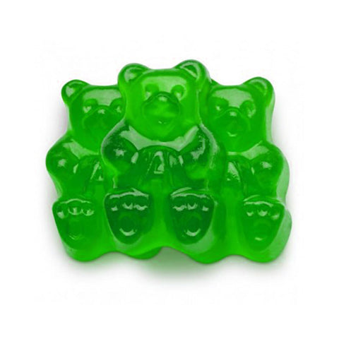 Green Apple Gummy Bear 8 oz