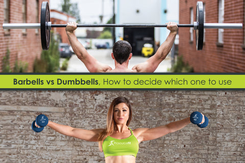 Barbells vs. Dumbbells - How to Decide Which One to Use