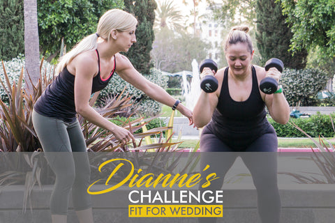 My First Workout & Keeping a Food Journal - Dianne's Challenge
