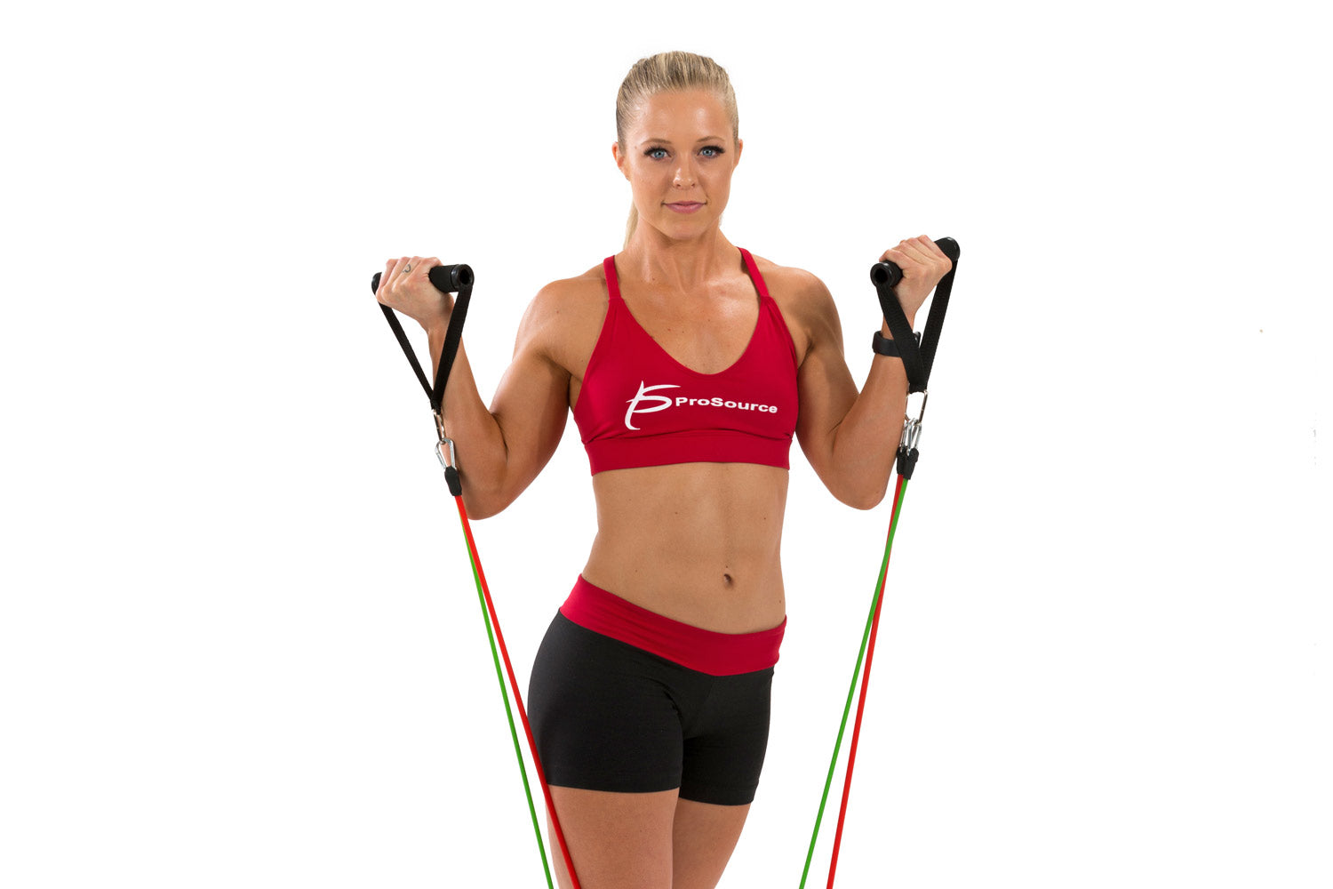 ProSource 9 Upper Body Resistance Band Exercises - Hotel and Travel Resistance Bands Workout | Buy Resistance Bands