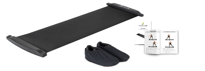 ProsourceFit Slide Board with Booties