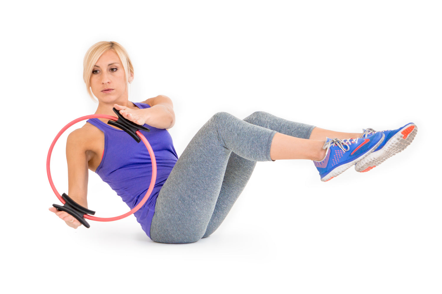 ProsourceFit Yoga and Pilates Ring Exercise