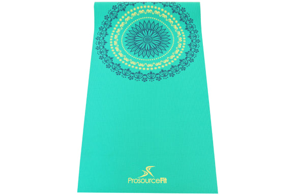 Prosourcefit mandala yoga mat with unique design