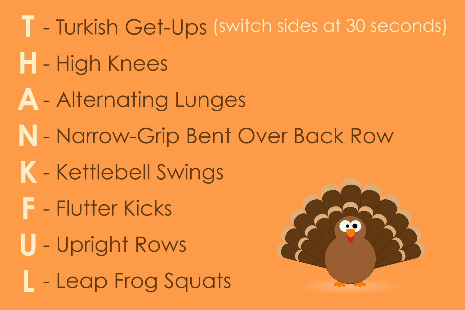 ProSource Thanksgiving Day Thankful Workout