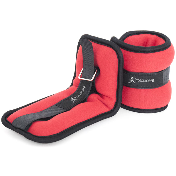Prosourcefit ankle weights red 1.5 lbs