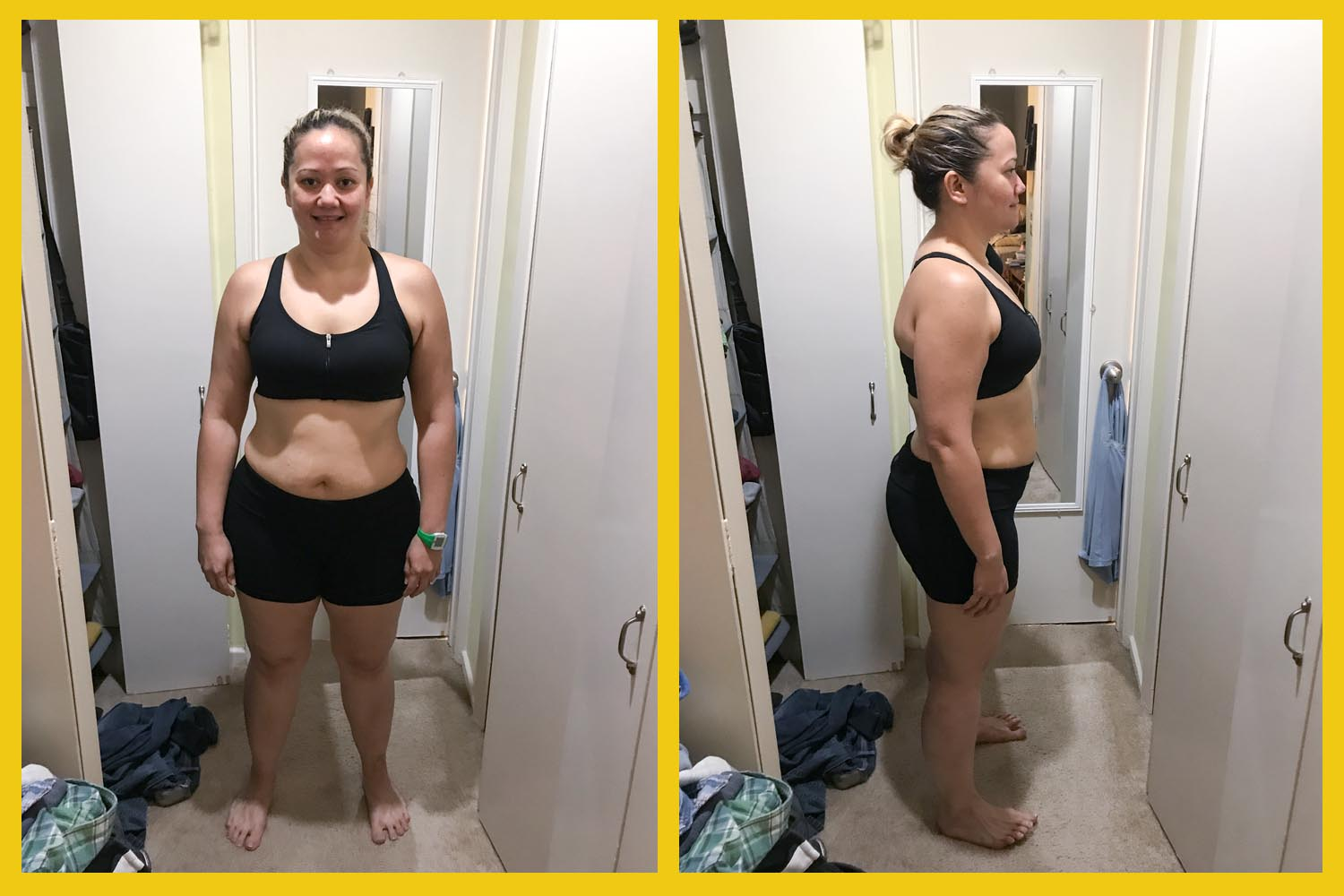 ProSource - Dianne's Challenge - Woman's Before Weight Loss Photos