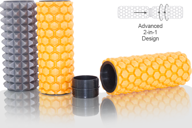 ProSourceFit - Rollers and Muscle Therapy Hexa and Spike Sports Massage Rollers