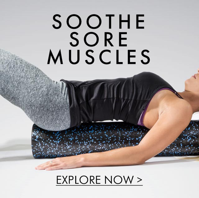 ProSource - Speckled Muscle Recovery Foam Roller