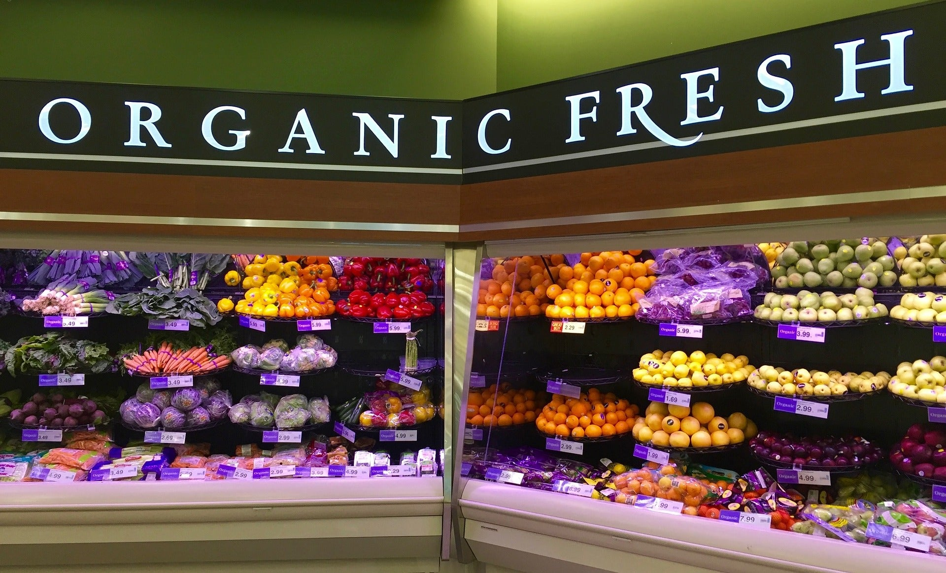 ProSource - Dianne's Challenge - Organic Produce Section at Grocery Store - Eat Healthy
