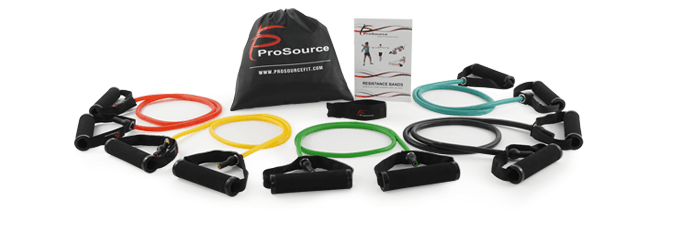 ProSource - Tube, Flat Resistance Bands