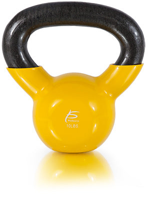 Vinyl Coated Cast Iron Kettlebell 10lb