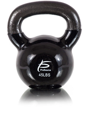 Vinyl Coated Cast Iron Kettlebell 45lb