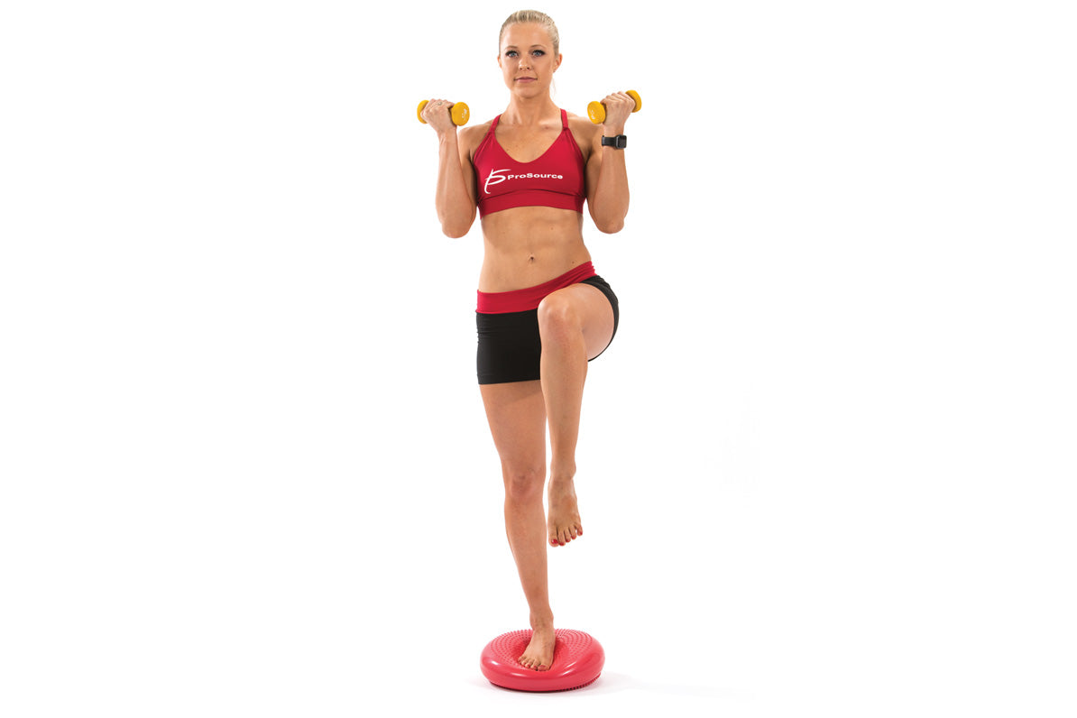 ProSource Five Core balance disc exercises for a full body workout - Core Balance Disc | Buy Balance Disc | Buy Neoprene Dumbbells