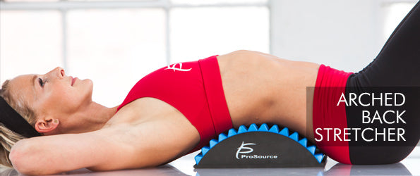 ProSourceFit - Rollers and Muscle Therapy Arched Back Stretcher