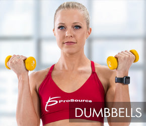 ProSourceFit - Strength and Toning Dumbbells