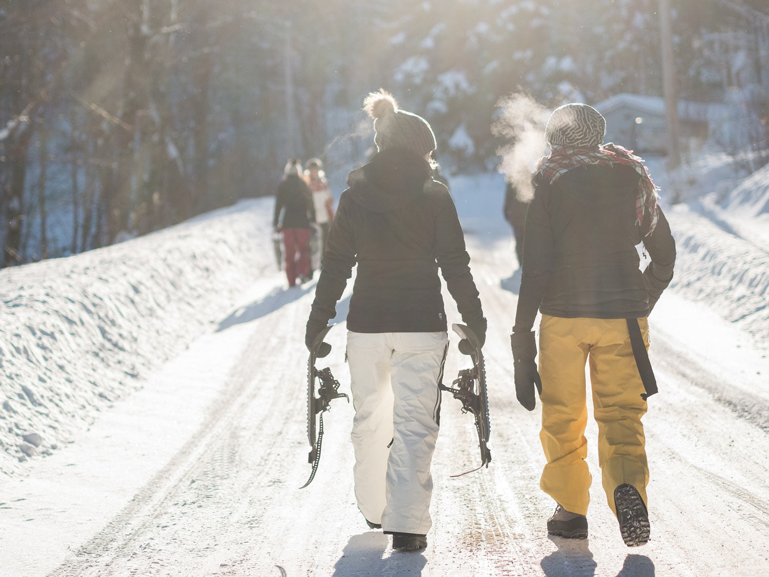ProSource Blog - 4 Ways Exercise Can Improve Your Overall Health This Winter | Skiing | Hiking
