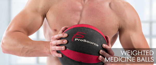 ProSourceFit - Strength and Toning Weighted Medicine Balls